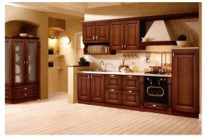 Кухня классическая из массива Рим - Мебельная фабрика «Волжская мебель»