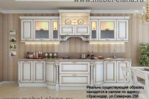Кухня классическая Монте Бьянко - Мебельная фабрика «Элана»