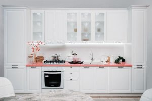 Кухня классическая прямая Нувель - Мебельная фабрика «Сурская Мебель»