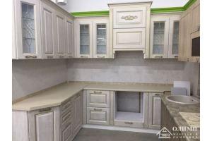 Кухня классическая угловая Клеопатра 15 - Мебельная фабрика «ОЛИМП»