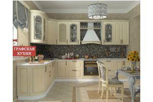 Кухня Классика Дуэт - Мебельная фабрика «Графская кухня»