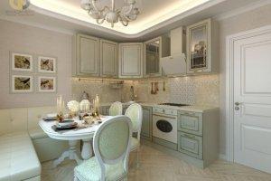 Кухня классика эмаль - Мебельная фабрика «SaEn»