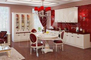 Кухня классика Вильгельм светлый - Мебельная фабрика «Кухонный двор» г. Малаховка