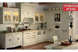 Кухня Классика Вилладжио - Мебельная фабрика «Графская кухня»
