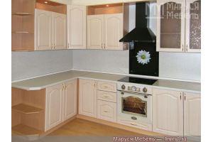 Кухня клён из МДФ с ПВХ - Мебельная фабрика «Маруся мебель»