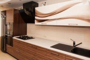 Кухня Кофейная полоса - Мебельная фабрика «ДиВа мебель»
