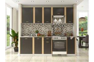 Кухня компактная Бланка ОКМ - Мебельная фабрика «OKMebell»