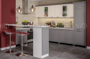 Кухня Констатация софт ваниль/софт графит - Мебельная фабрика «МиФ»