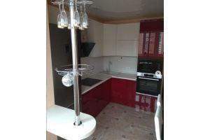 Кухня красная глянцевая эмаль - Мебельная фабрика «Гранд Мебель 97»