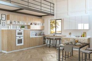 Кухня Куба - Мебельная фабрика «GeosIdeal»