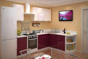Красивая угловая кухня Квадро - Мебельная фабрика «Д.А.Р. Мебель»