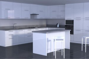 Кухня Lance  в стиле минимализм - Мебельная фабрика «Avanto»