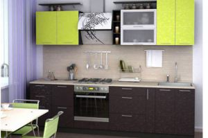 Кухня Лайм-2 - Мебельная фабрика «ММС Мебель»