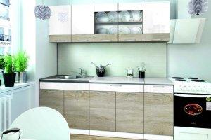 Кухня прямая Лайт 1.6 - Мебельная фабрика «Зарон»