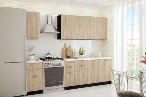 Кухня ЛДСП Брауни 02 - Мебельная фабрика «VIVAT»