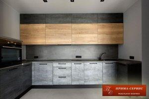 Кухня ЛДСП Тимбер - Мебельная фабрика «Прима-сервис»