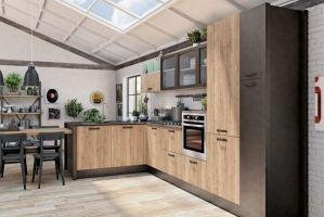 Кухня в стиле лофт Веста - Мебельная фабрика «Симбирская мебельная компания»