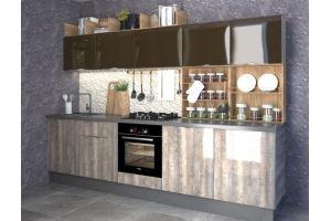 Кухня Лион ЛМДФ - Мебельная фабрика «Ульяновскмебель (Эвита)»
