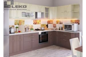 Кухня Лира угловая - Мебельная фабрика «ЛЕКО»