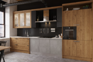Кухня Лофт индастри - Мебельная фабрика «Атлас-Люкс»
