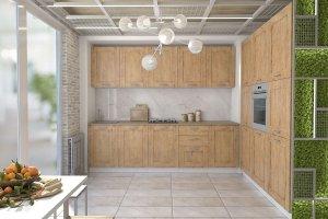 Кухня Лофт 13 - Мебельная фабрика «ДИАЛ»