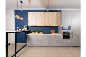 Кухня Лофт с барной стойкой - Мебельная фабрика «Хомма»