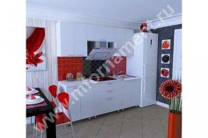 Кухня Люкс с 3D фасадами - Мебельная фабрика «Орнамент»