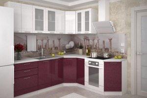 Кухня угловая глянцевая Мадейра - Мебельная фабрика «Д.А.Р. Мебель»