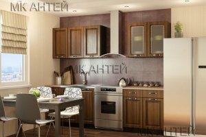 Кухня маленькая Татьяна прямая - Мебельная фабрика «Антей»