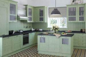 Кухня Манчестер фисташка - Мебельная фабрика «Командор»
