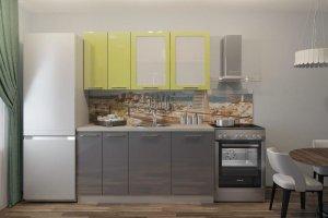 Кухня Марта Олива-Графит - Мебельная фабрика «Веста»