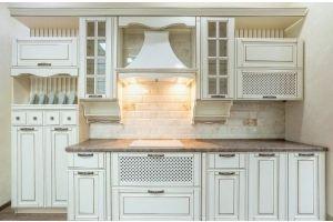 Кухня массив березы Доминика - Мебельная фабрика «Rits»