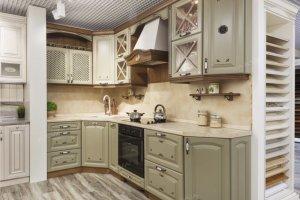 Кухня массив бук угловая - Мебельная фабрика «ARVA»