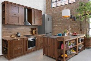 Кухня массив Марта - Мебельная фабрика «Корфил»