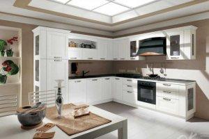 Кухня массив+шпон СКАЛЛИ - Мебельная фабрика «Оранжевый Кот»