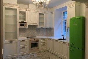 Кухня массив угловая классическая - Мебельная фабрика «Курдяшев-мебель»