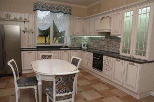 Кухня массив в стиле Прованс - Мебельная фабрика «Курдяшев-мебель»