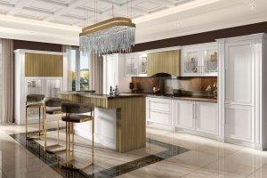Кухня массив Венеция - Мебельная фабрика «Симбирская мебельная компания»