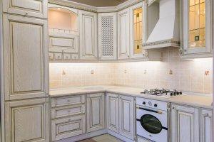 Кухня массив ЯСЕНЬ 5 - Мебельная фабрика «Омега»
