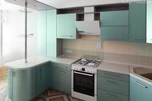 Кухня матовая эмаль - Мебельная фабрика «Маруся мебель»