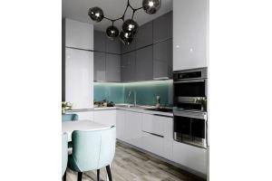 Компактная кухня МДФ 12 - Мебельная фабрика «КухниСтрой+»