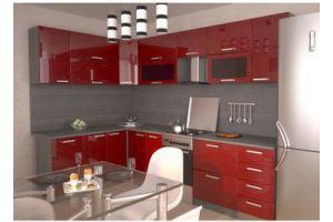 Кухня МДФ 5 угловая - Мебельная фабрика «Мебель Шик» г. Ульяновск