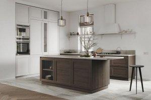 Кухня МДФ с островом Джаспер - Мебельная фабрика «ГеосИдеал»