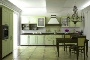 Кухня МДФ эмаль Бристоль - Мебельная фабрика «MipoLine»