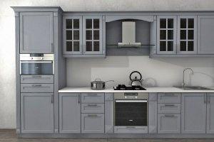 Кухня МДФ эмаль Прованс - Мебельная фабрика «MipoLine»