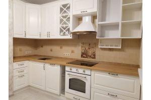 Кухня МДФ Эмаль Ral  9010 - Мебельная фабрика «МЭК»