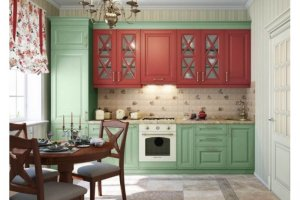 Кухня МДФ фасад Стайлс - Мебельная фабрика «Ладос-мебель»