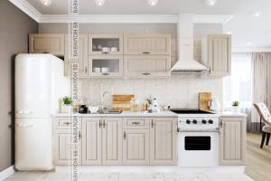Кухня МДФ Империя прямая - Мебельная фабрика «Вавилон 58»