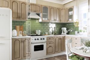 Кухня МДФ Монако угловая - Мебельная фабрика «Вавилон 58»