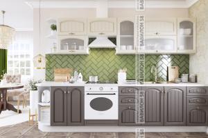 Кухня МДФ Монако - Мебельная фабрика «Вавилон 58»